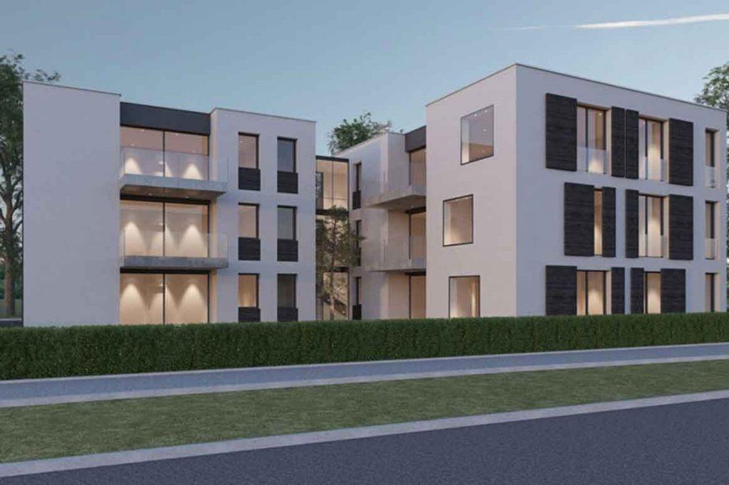 H2 - Neubau eines Mehrfamilienhauses in Freimann