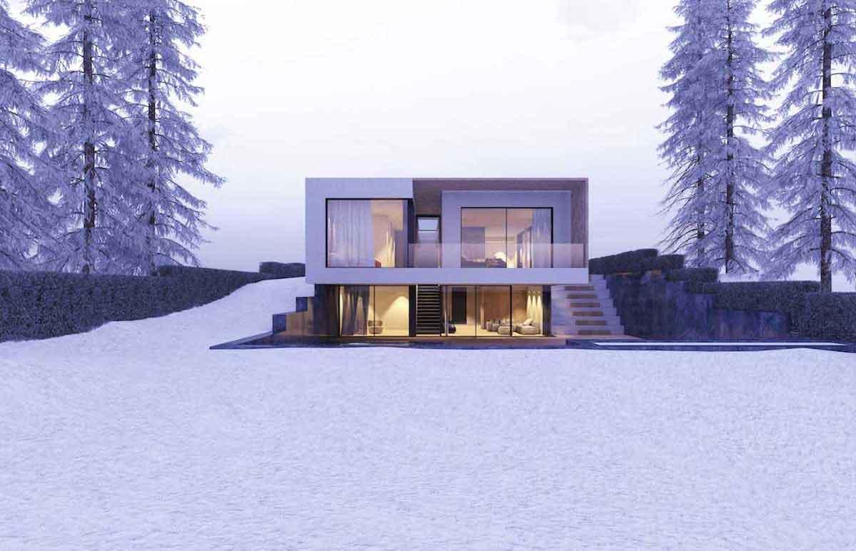 IB10 - Neubau eines Wohnhauses mit Schwimmbad