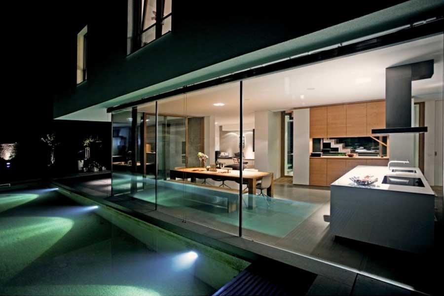 AB17 - Neubau eines Niedrigenergie Einfamilienhauses mit Pool
