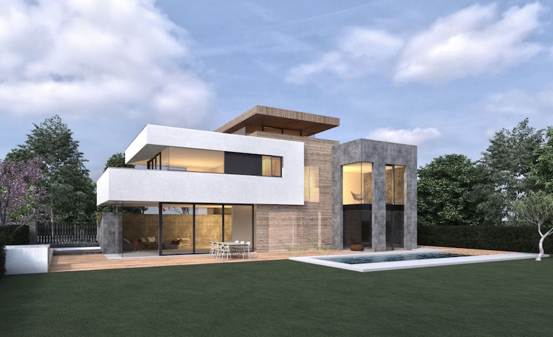 B24.1 - Neubau eines Niedrigenergie Einfamilienhauses