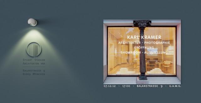 Vernissage: Dezember 2012 Stuart Stadler Architekten VFA featuring Karl Kramer