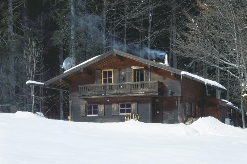 S71 Innenausbau einer Skihütte