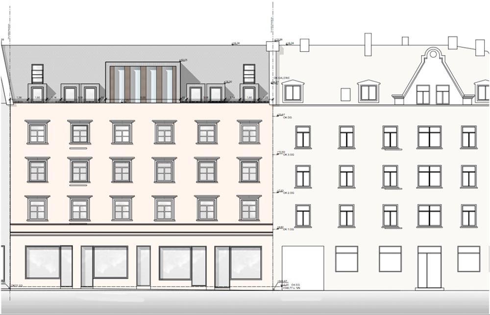 H22 - Umbau eines Wohnhauses mit Umbau eines Dachgeschosses