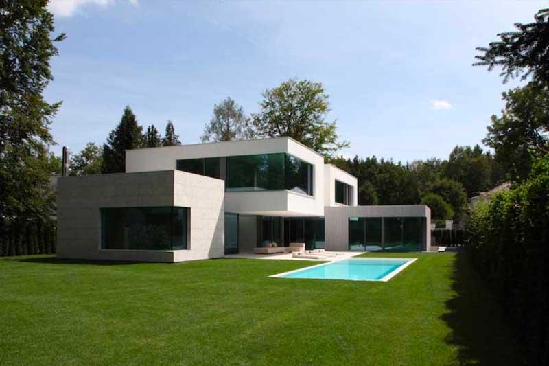 OH2 - Neubau eines Wohnhauses mit Wellnessbereich und Tiefgarage