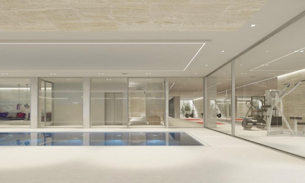 Oh2 neubau eines wohnhauses mit wellnessbereich und - Stadler architekten ...