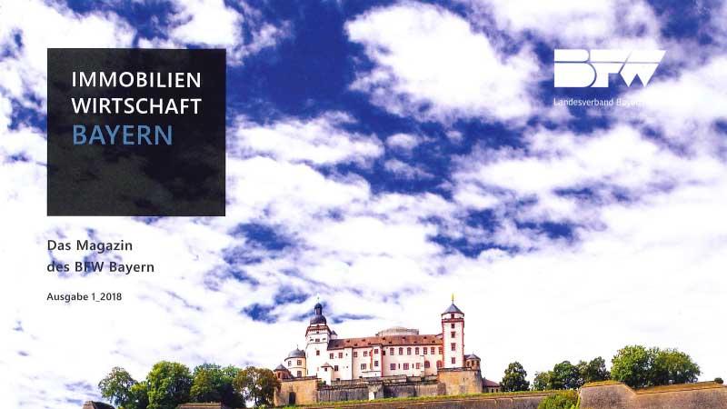TW2 - Veröffentlichung Immobillienwirtschaft Bayern Ausgabe 01 2018