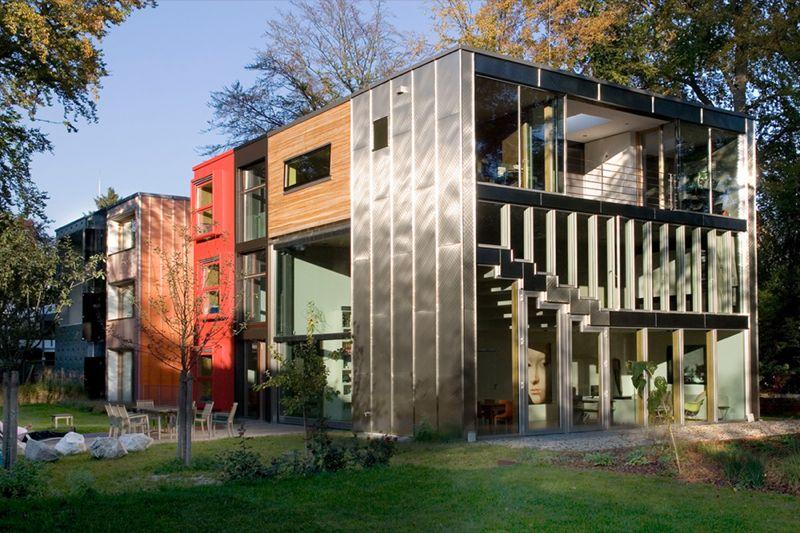 BARCODE - Neubau eines Niedrigenergie- Wohn- & Atelierhauses