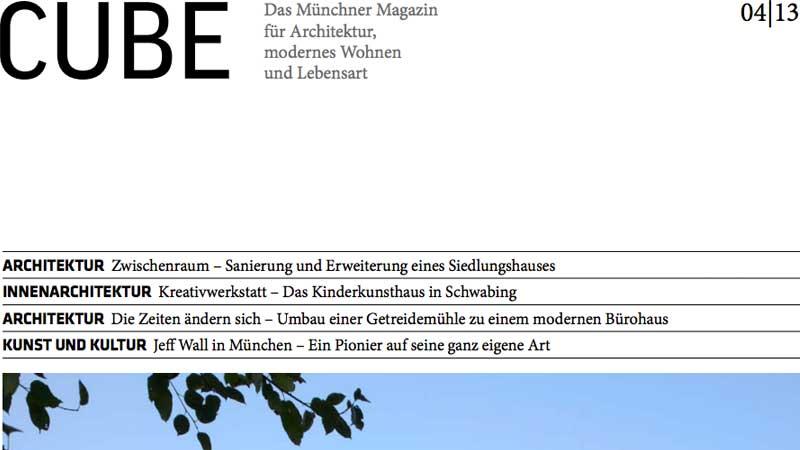 Veröffentlichung: Dezember 2013 HS56 - Veröffentlichung auf CUBE München 04|13