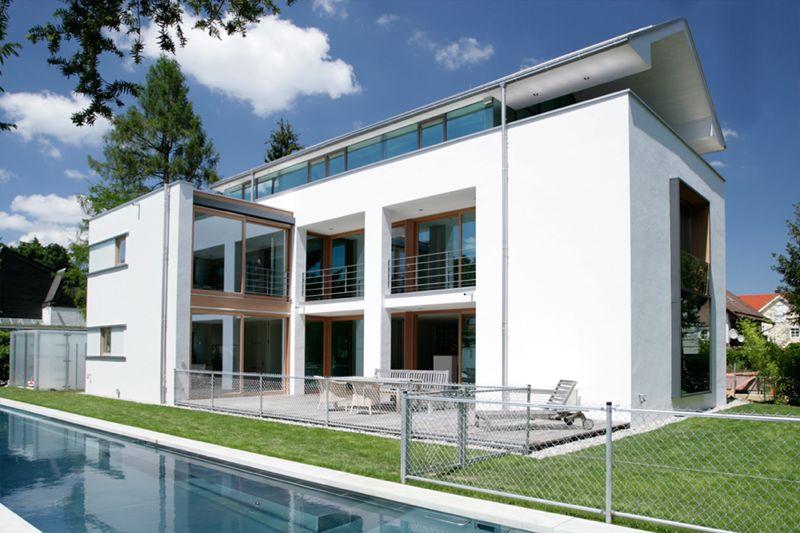K35 - Neubau eines Einfamilienhauses mit Pool