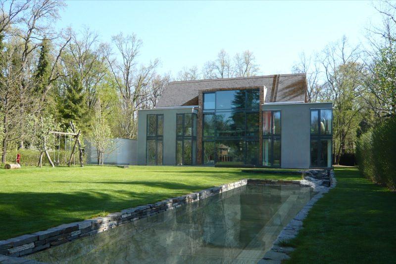 N3 - Neubau eines Einfamilienhauses - Massivholzmauerwerk