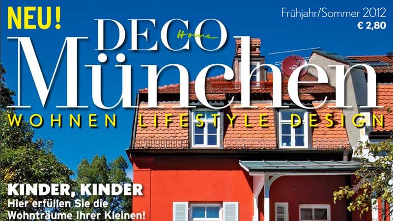 T85 - Veröffentlichung in DECO HOME MÜNCHEN
