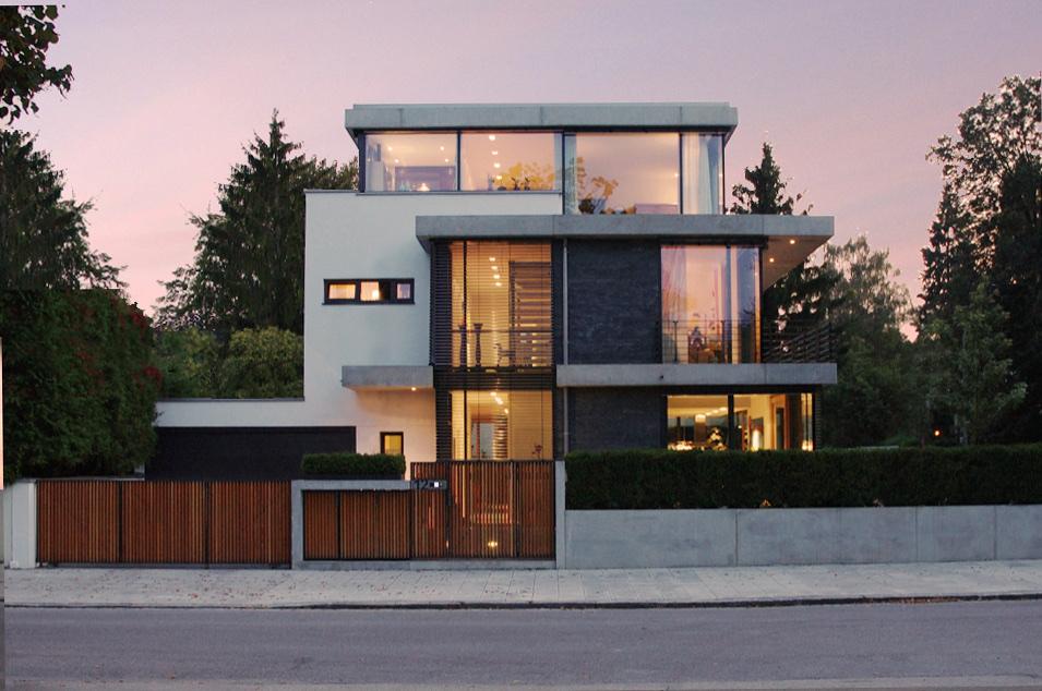 B12 - Neubau eines Niedrigenergie Einfamilienhauses
