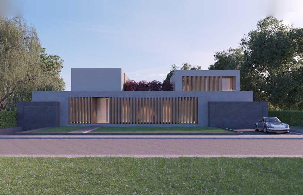 HW18 - Neubau eines Wohnhauses mit Tiefgarage und Pool